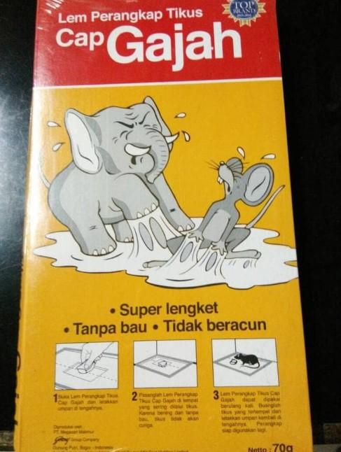 Lem Tikus Cap Gajah 10